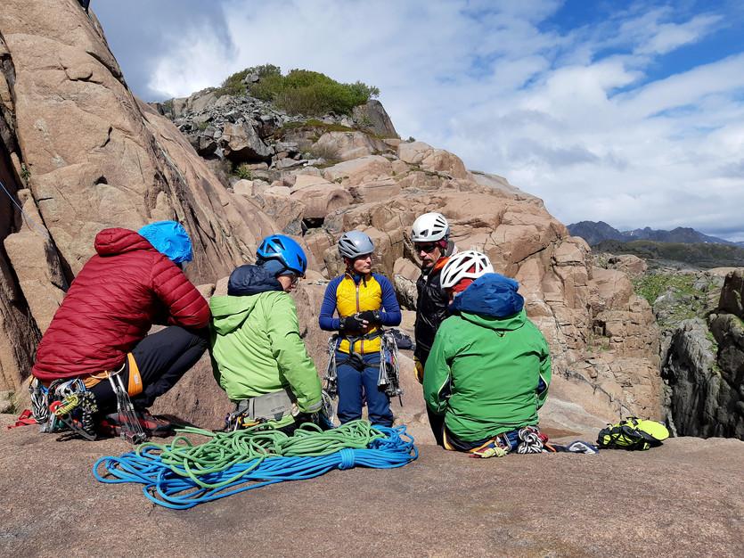 Klippklätterkurs med Svenska bergsguideorganisationen