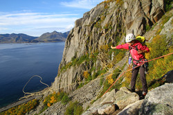 Outdoor Academy klätterspecialiserin