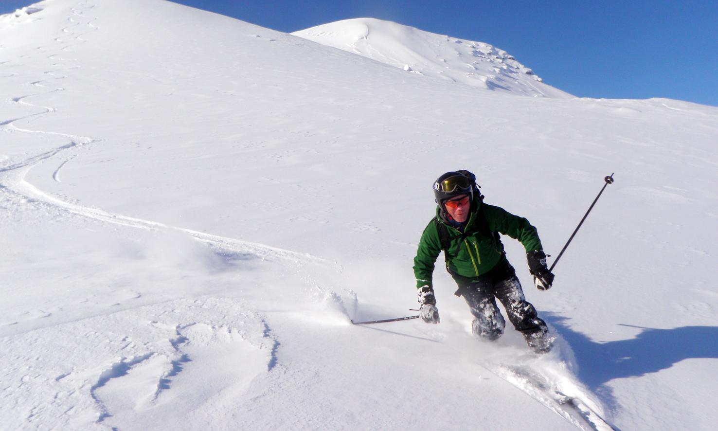 Skiing Hemavan