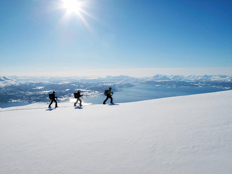 Fantastisk offpist i Narvik
