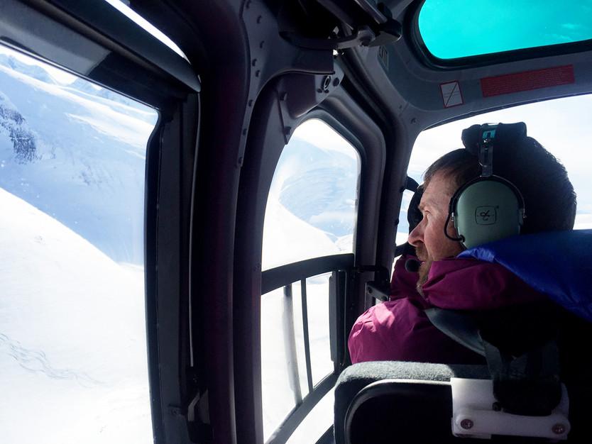Heliski med Mountain Guide Travel