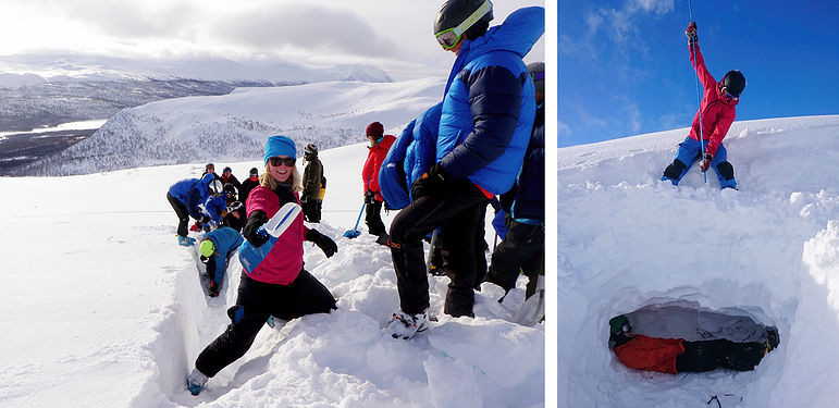 Vinterutbildning med Outdoor Academy i Tärnaby