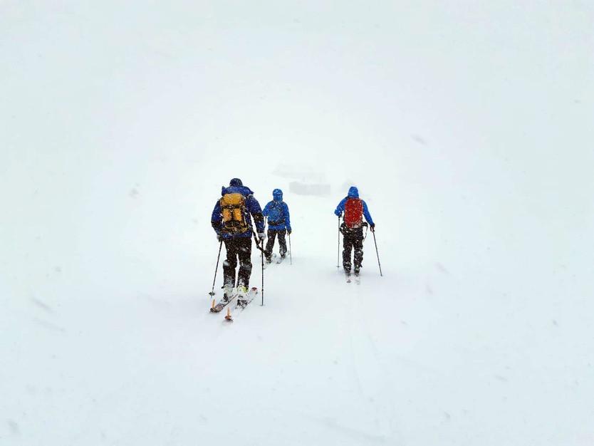 Med Canadian Avalanche Association i Tarfala