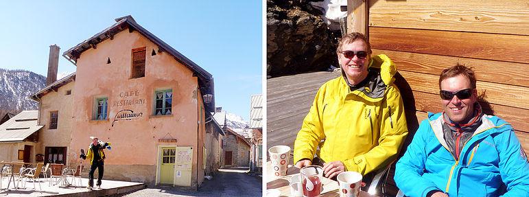 Bra område för skitouring – Nevaché