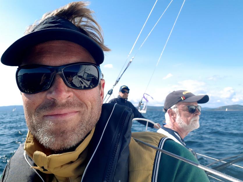 Sommar, semester, sol, segling och skönt liv