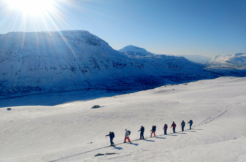 Vinterturné med Outdoor Academy
