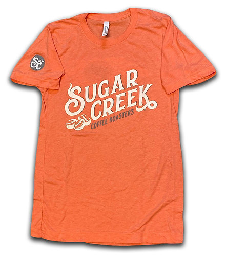 Orange Super Soft T-shirt (Bella + Canvas)