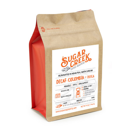 12 oz. Decaf Colombia Huila