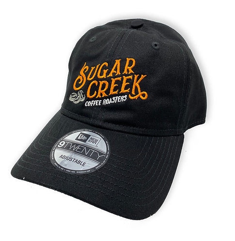 Black Ball Cap with Embroidered Logo