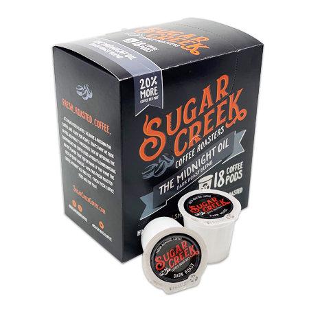 18 ct. Coffee Pods: Midnight Oil - Dark Roast Blend