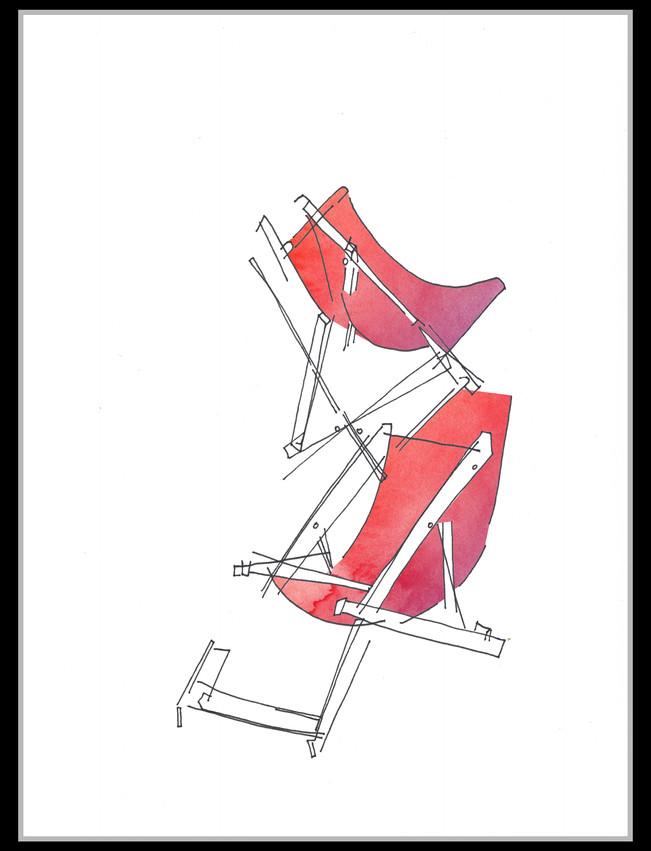 Deckchairs #1 - SOLD