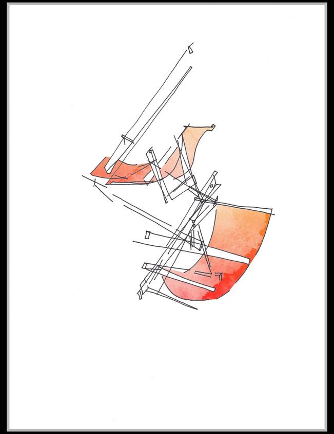Deckchairs #2 - SOLD