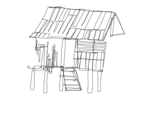 Thai Village Hut