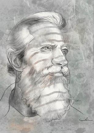 Digital Sketch - Charcoal
