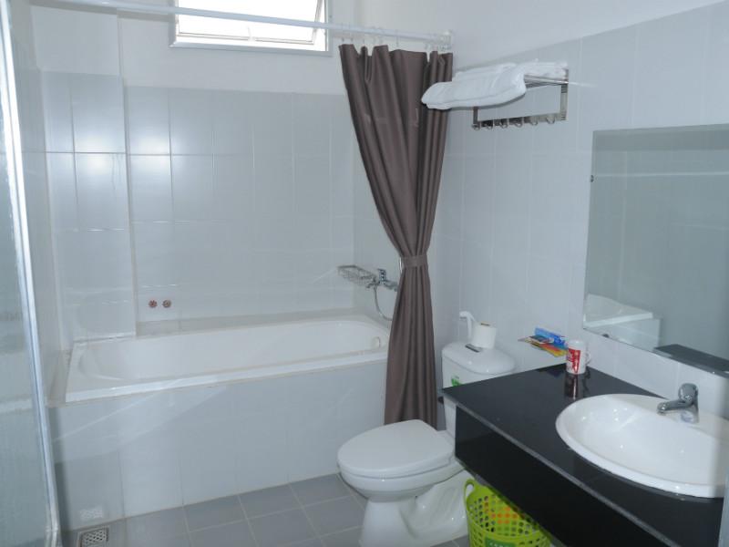 Phòng tắm căn hộ sang trọng Luxury