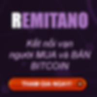 Đẩu tư mua bán Bitcoin Remitano
