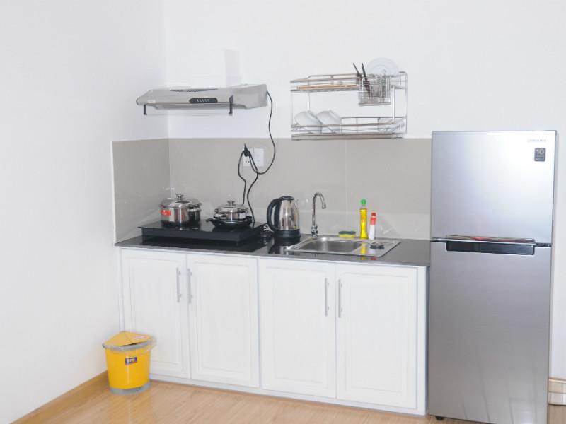 Bếp căn hộ sang trọng Luxury