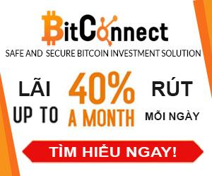Lãi 40%/tháng BitConnect