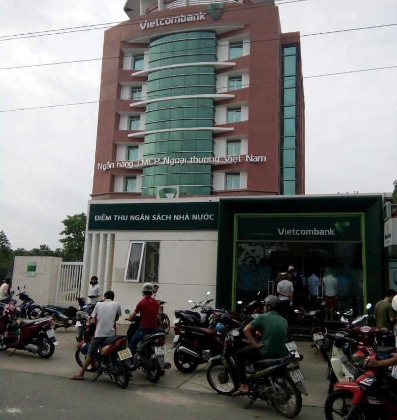Tòa nhà ngăn hàng Vietcombank