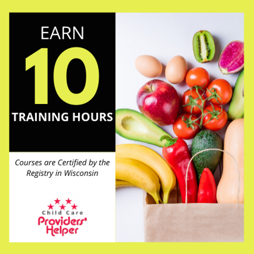 10 hours-NEW Safe Food Handling, and COVID19 Practices in Child Care Part 1 and