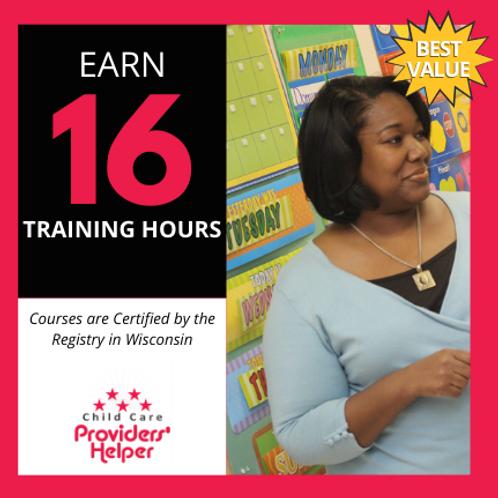 16 Hour Early Education Training Bundle
