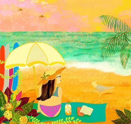Beach girl 2020.6