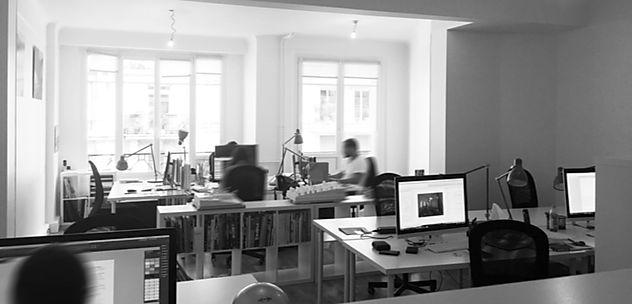 Notre bureau au coeur de Paris ! Venez le visiter.