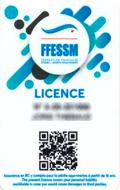Licence + cotisation + accès nage libre