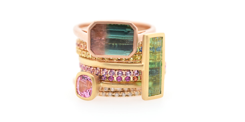 Kimberly Collins Colored Gems Trunk Show