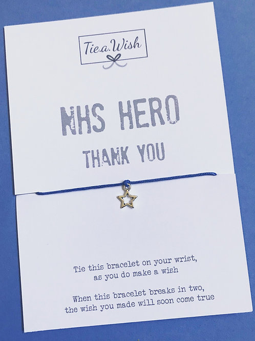 NHS Hero Wish Bracelet -£1 from each sale donated to NHS