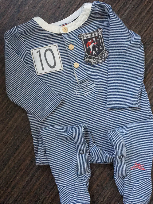 Joules sleepsuit 6-9 months