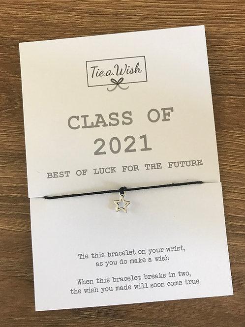 Class of 2021 wish bracelet