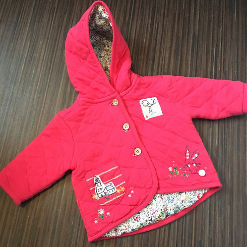 Next padded jacket/coat 3-6