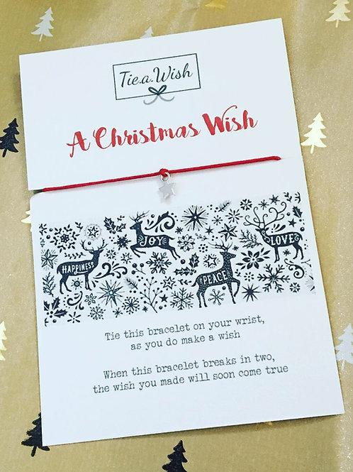 A CHRISTMAS Wish Bracelet