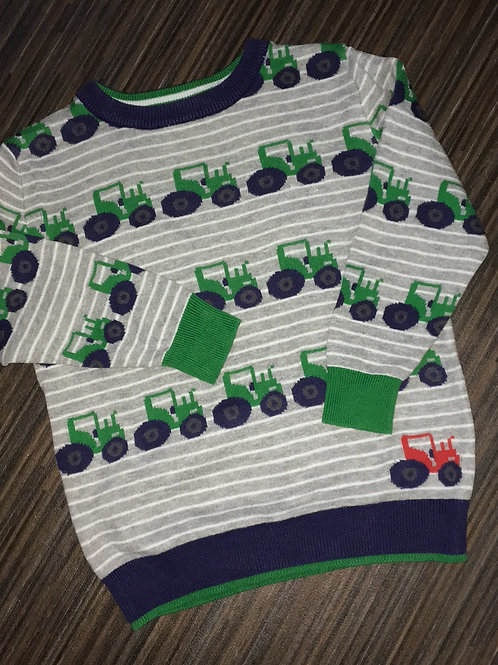Asda George tractor jumper 3-4 years