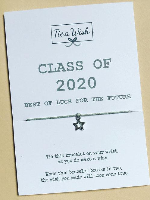 Class of 2020 wish bracelet