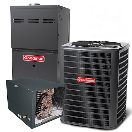 Cooling For Less Goodman 5 Ton Gas Split Systems