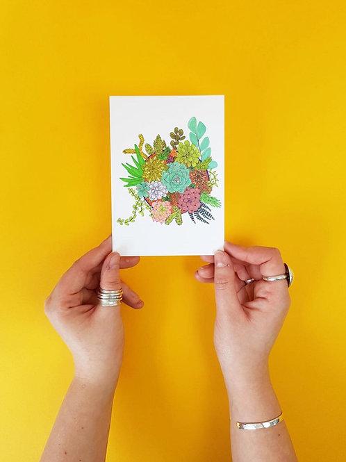 SUCCULENT POST CARDS
