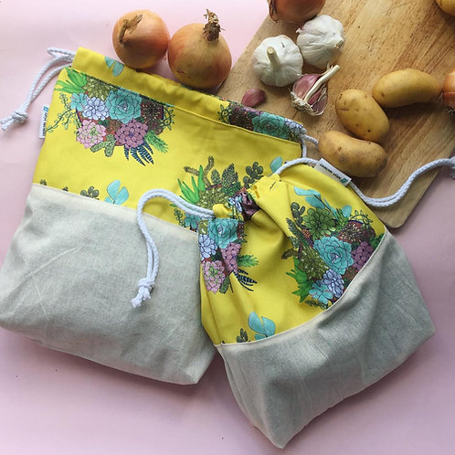 Potato & Onion Preserving Storage Sack