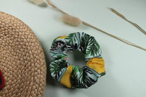 Linen Biodegradable Hair Scrunchie