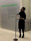Catrina speech at Hunter Holly IMG_0633.