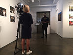 DB Gallery NY1 reporter interviewing And