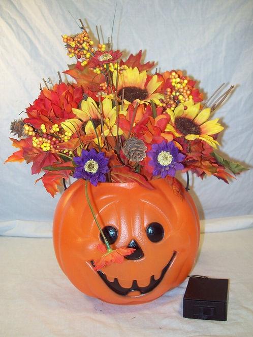 Flowers-Pumpkin