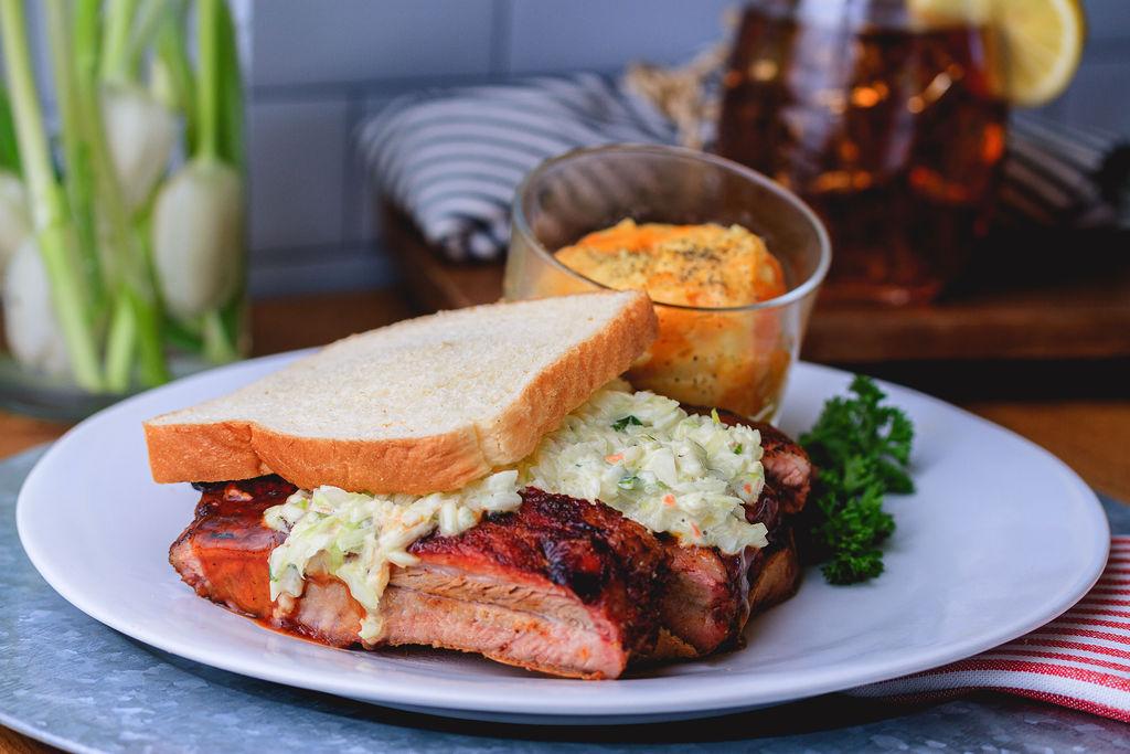 BBQ Rib Sandwich Combo