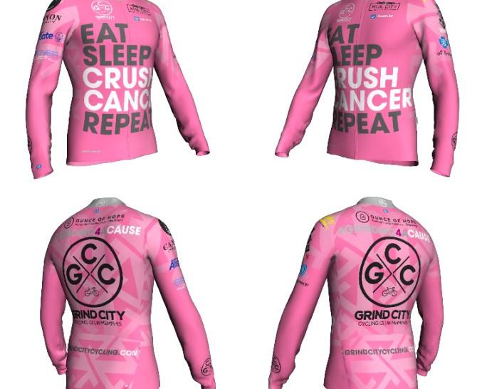 Crush Cancer Jersey