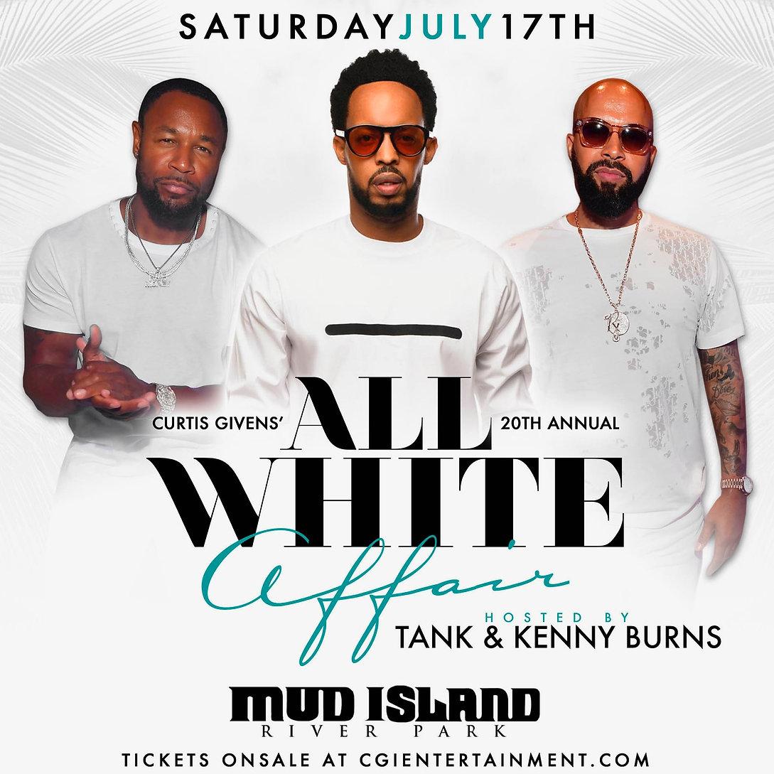 All White Affair Flyer