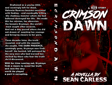 CRIMSON DAWN COVER