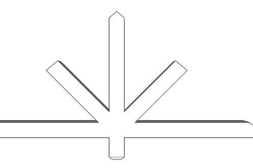 Mønekryss 10 - MP10
