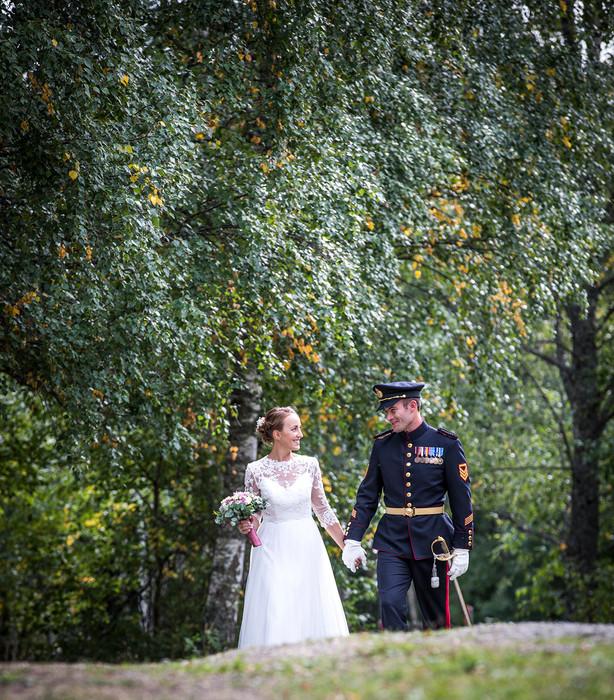 Soldat og hans frue