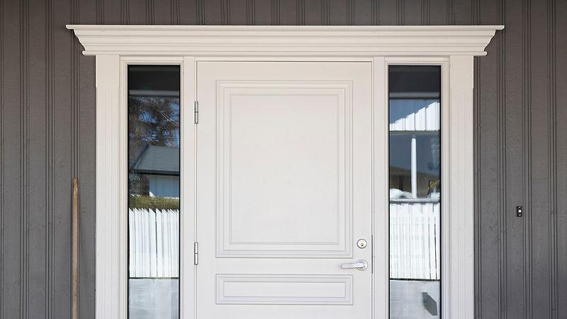 Bilde i galleriet for døromramming.